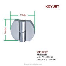 Guangzhou wholesale toilet cubicle zinc alloy hinge on sale