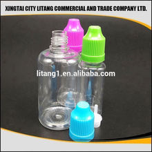 olive oil/e liquid use and screen printing labels pet plastic bottle with pe dropper