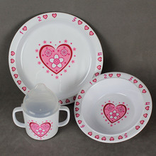 CE / EU,CIQ,EEC,FDA,LFGB,SGS Certification and Dinnerware Sets Dinnerware Type kids dinner set melamine
