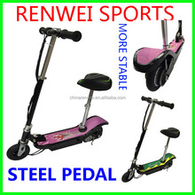 steel pdal , max weight 100kgs,self balancing electric scooter /electric bicycle