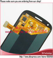 For Samsung For Galaxy S3 Mini i8190 Blue LCD Display With Digitizer Assembly