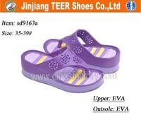 EVA Injection Women Summer Shoes Sandals Light and Comforatable EVA High Heel Clog