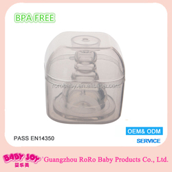 Silicone nipple standard size for baby feeding bottle
