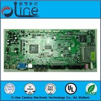 lcd tv parts electrical circuits 94v0 pcb board