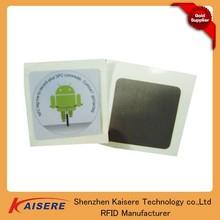 Paper white nfc tag cheap nfc sticker