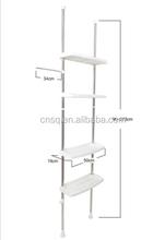 4-tier shelf above the toilet