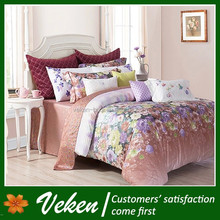 40S*40S 250TC Printed 100% Bamboo Bed Sheet Patchwork Quilt