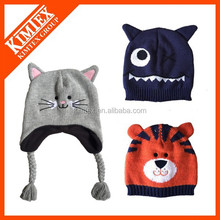 Top Sell Winter Custom Cute Kids Hats