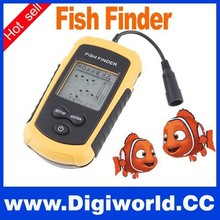 Factory Price 100m Portable Sonar Sensor Fish finder fishing equipment