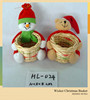 New Arrival Handicraft Christmas Basket For Promotion