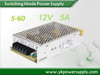 60W Metal Electrical Open Frame Switch Power Supply SMPS 12V 5A POE Power Supply