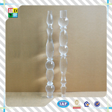 70 inches height promotion new style acrylic furniture legs round acrylic table legs antique table legs