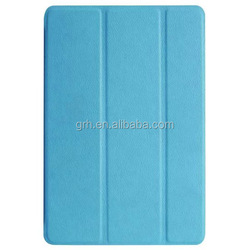 Tri-fold smart leather cover case #1 for iPad mini 4