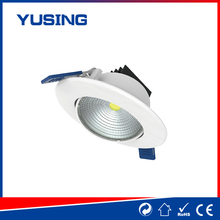 LED manufacturer 185-265V COB cheap small plastic recessed LED downlight downlight corporation