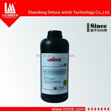 Wide color gumat uv inkjet printer ink for Konica/Xaar 382/ Spectra Printhead