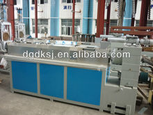PE plastic flakes recycling extruding and pelletizing machine