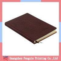 Professional Personalized Leather Cover Notebooks