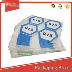 Custompackagings Disposible waterproof adhesive cosmetic label