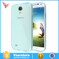 Colorful ultralight 0.3mm thickness ultrathin tpu case for samsung s4 clear soft silicone cases cover tpu