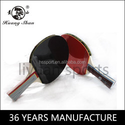 China Manufacture good quality table tennis bat 2 star table tennis racket