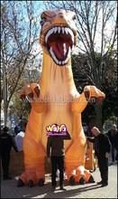 Giant inflatable DINOSAUR/5M/Custom outdoor inflatable cartoon