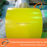 Color Coated Steel Coil/ RAL Prepainted Galvanized Steel Coil Z275/Metal Roofing Sheets Building Materials PPGI coils