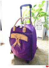 korean style ladies fashion trolley bag,mini trolley bag,lady trolley bag