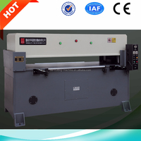 By computer control automatic flocked tray cutting press machine