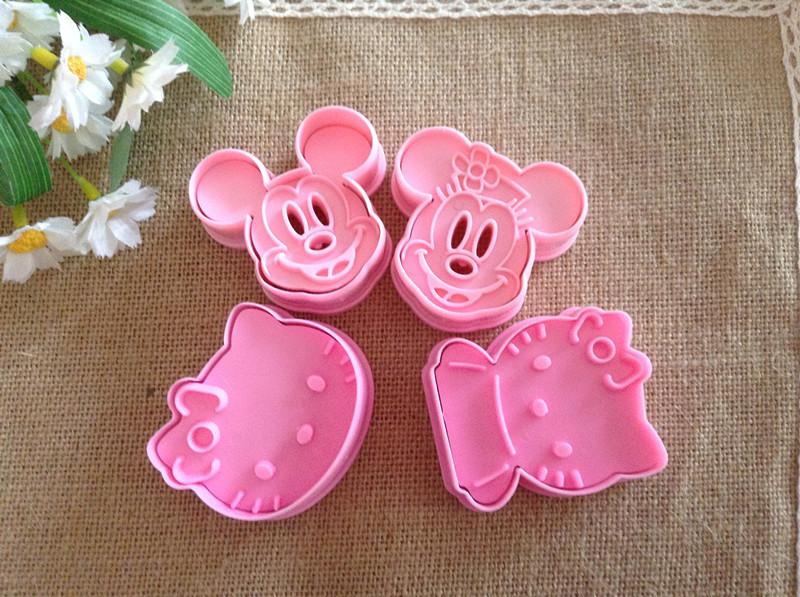Aliexpress.com: Comprar Minnie Mickey Mouse + hello kitty galleta ...