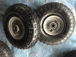3.50X4 pnumatic rubber wheel inflation type