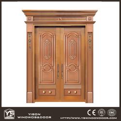 Well Design Bronze Door for Villa Copper Door Home Entrance Hot Sale