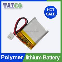 Popular Model 3.7v 800mah Lithium Polymer Battery Pack