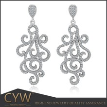 CYW c&a earrings, China wholesale charm 925 sterling silver jewellery