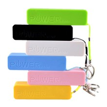 famous brand wholesale 2600mah manual for power bank usb