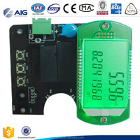 variable area fowmeter Integrated Circuits and LCD display