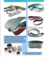 china supplier diamond abrasive belt diamond tools polishing hard metal and steel,glass ceramic and so on