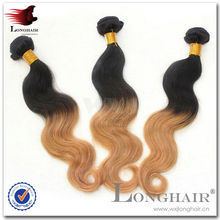 100% Virgin Brazilian Unprocessed Ombre Hair Weave