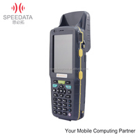 3.5inch Android barcode scanner phone with 1d/2d barcode reader ,3G, wifi , gps,NFC, UHF RFID reader