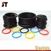 Guangzhou supplier colored Silicon Rubber custom gasket o ring