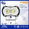 super bright 10w*2pcs projector truck led fog lamps high power car led lamp