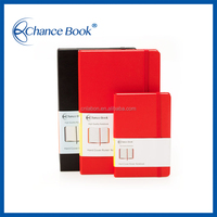 Factory manufacture A4/A5/A6 Leather notebook with elastic band
