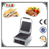 High quality stainless steel foldable panini grill , sandwich press panini grill ,contact grill