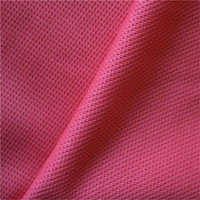 China textiles factory direct 100% polyester interlock knitted fabric