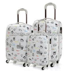 BUBULE 2015 cartoon luggage cartoon travel luggage bag Travelpro luggage