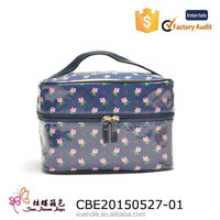 cosmetic bag for promotion/cheap ladies' cosmetic bag/summer cosmetic bag