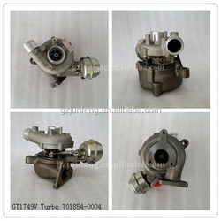 Diesel Engine TDI 110 for Audi A4/A6 turbocharge GT1749V 701854-0002 701854-0003 701854-0004 028145702NV225