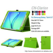 For Samsung Galaxy Tab A 9.7 Case , Slim Flip Stand Leather Smart Cover Case for Samsung Galaxy Tab A SM-T550NZWAXA, Apple Green
