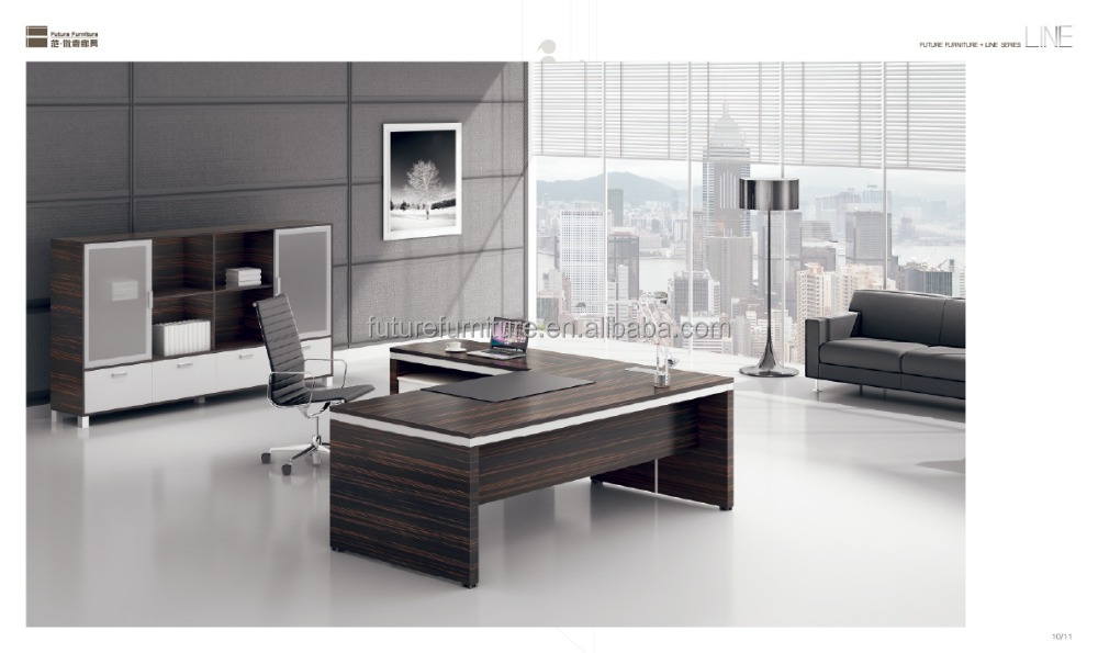 2015 modern executive desk office table design best veneer