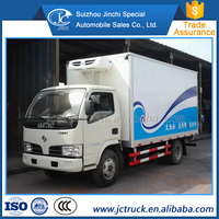 Diesel Power Type Dongfeng used refrigerated mini van for sale sale