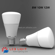 2835 smd high lumens A19 A60 PWM e27 dimmable led bulb